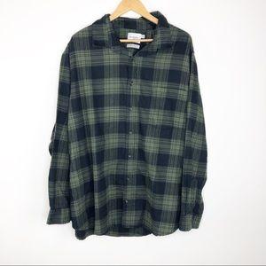 🌿 Goodfellow Standard 3X Plaid Flannel